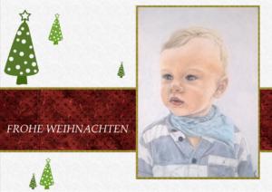 """""""Weihnachtsbaumgrüße"""" WKwb"""