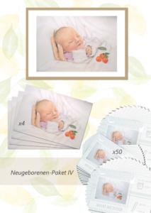 Inga Prasse Paket 4 Neugeborene Gemälde